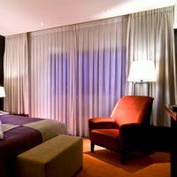 Draperii perdele sistem glisare camera hotel 001